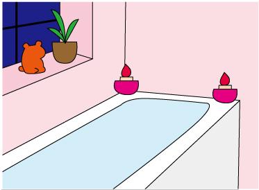 浴室 リフォーム リラックス効果アップ
